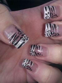 60 Best Zebra Print Nail Art Ideas