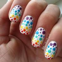 55+ Best Polka Dots Nail Art Design Ideas For Trendy Girls