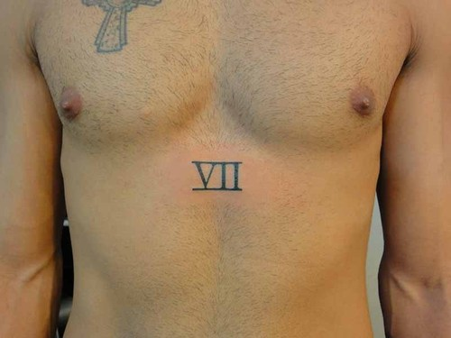 20 Roman Numeral Chest Tattoos Ideas And Designs