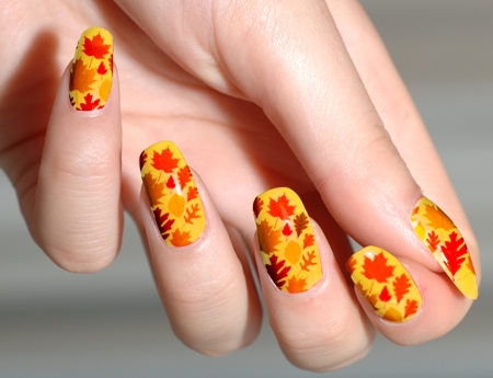 Autumn Nail Art 1