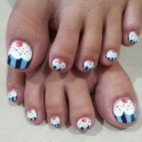 Cupcake Nail Art - Askideas.com