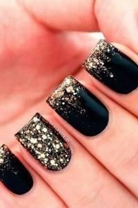 Black Glitter Nail Design | www.imgkid.com - The Image Kid ...