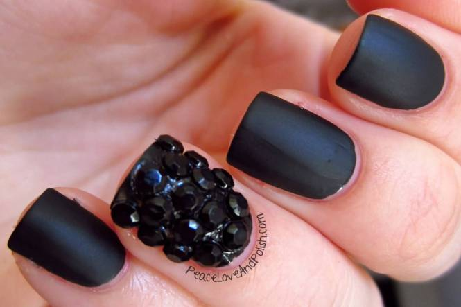 Cly White Short Nail Art Designs Black For Nails