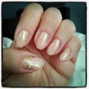 beautiful wedding nail