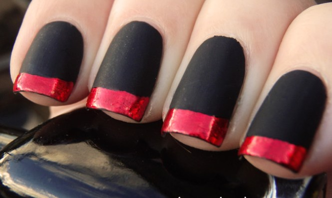 21 Black And Red Nail Art Designs Ideas Design Trends Checkered