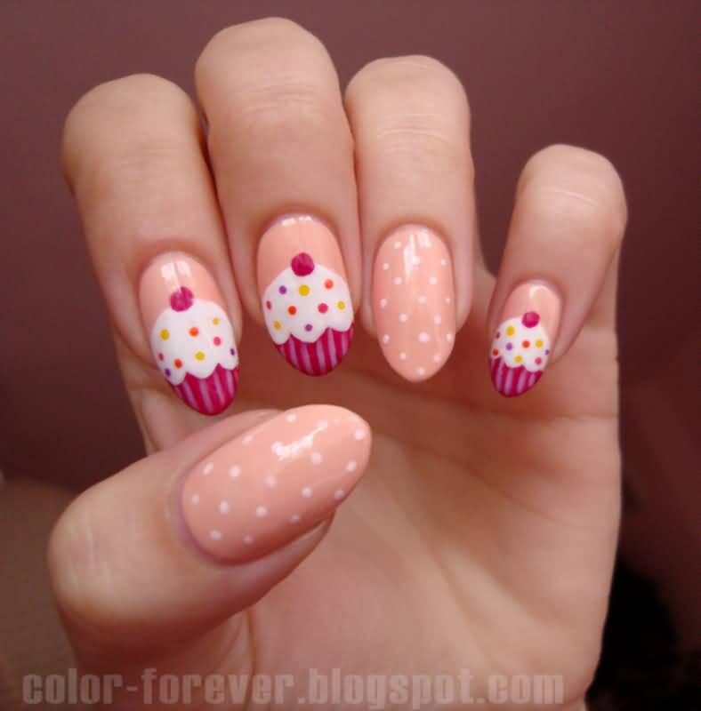 51 Wonderful Cup Nail Art Design Ideas For S