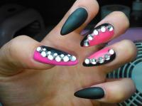 Black And Pink Nail Designs | www.pixshark.com - Images ...