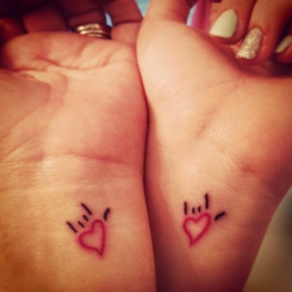 matching wrist tattoos ideas