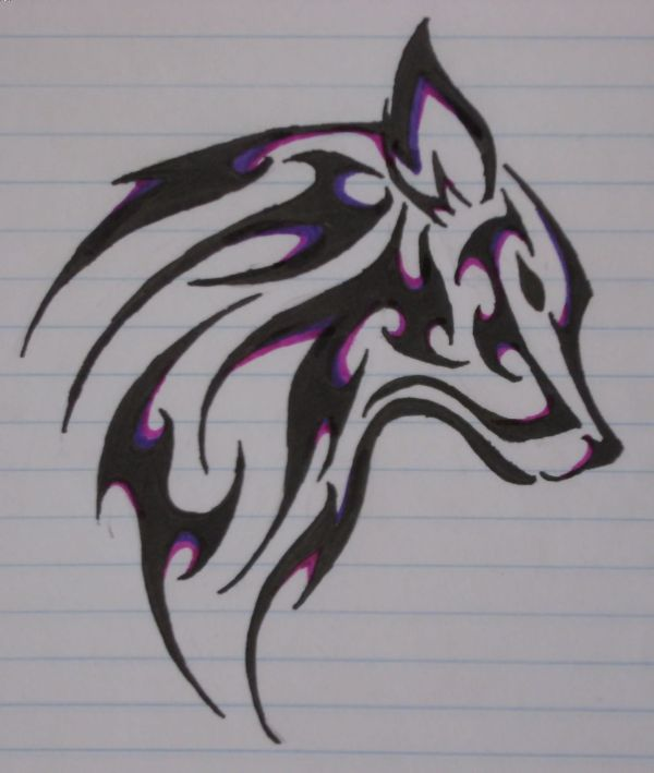 Tribal Wolf Tattoos Design And Ideas