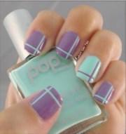 beautiful pastel nail