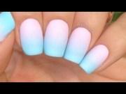 stylish pastel nail art