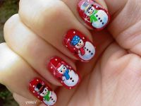 40+ Latest Winter Nail Art Designs