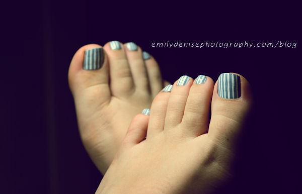 Stripe Nail Design Tutorial