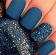 latest winter nail art design