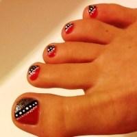 55+ Most Stylish Toe Nail Art Ideas