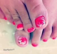Hot Pink Toe Nail Designs | www.pixshark.com - Images ...