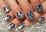 latest winter nail art design