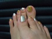 stylish toe nail art ideas
