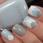 winter nail art design