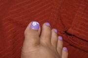 adorable toe nail art