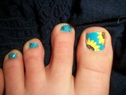 adorable toe nail art