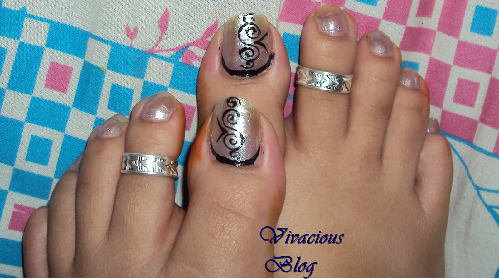 Toe Nail Designs Idea