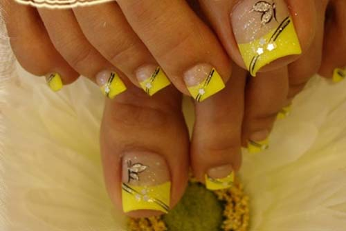 toenail designs simple nails art ideas - Toe Nail Designs Ideas