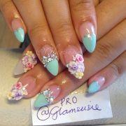 beautiful 3d nail art