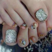 Rhinestone Toe Nail Designs | www.pixshark.com - Images ...
