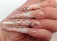 61 Latest Stiletto Nail Art Design Ideas For Teen Girls
