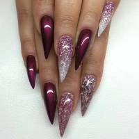 55 Best Stiletto Nail Art Design Ideas