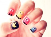 beautiful cartoon nail