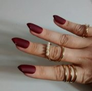 stylish matte stiletto