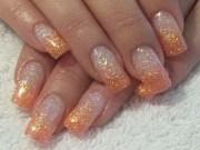 beautiful glitter nail