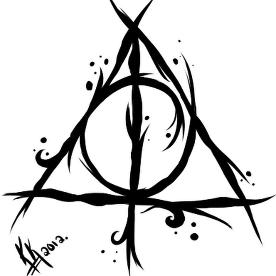 20+ Hallows Tattoo Designs