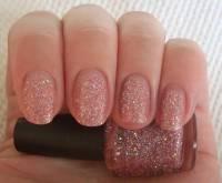 How To Do Pink Glitter Acrylic Nails - NailArts Ideas