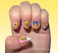 60+ Most Beautiful Cartoon Nail Art Design Ideas