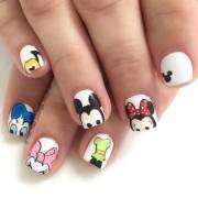 beautiful cartoon nail