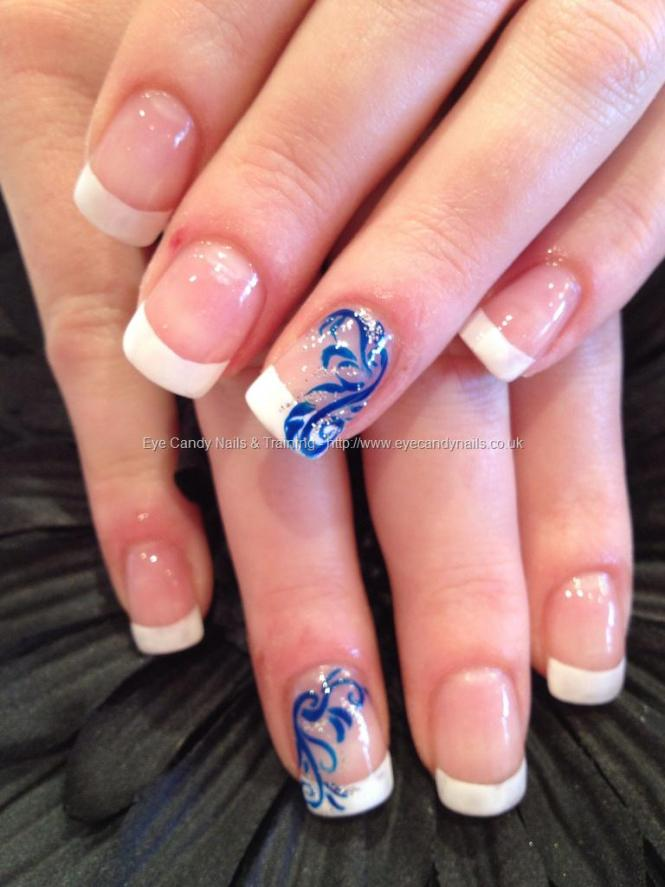 Nail Art For Blue Paint