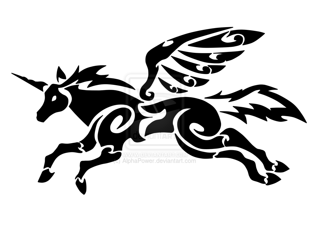 Awsome Cute Skull Wallpapers 35 Tribal Pegasus Tattoos Collection