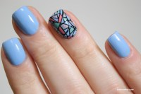 50 Latest Mosaic Design Nail Art Ideas For Trendy Girls