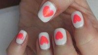 60+ Latest Heart Nail Art Designs