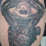 24 Harley Engine Tattoos