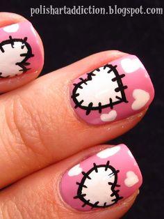 How To Make A Nail Art Heart Best Ideas
