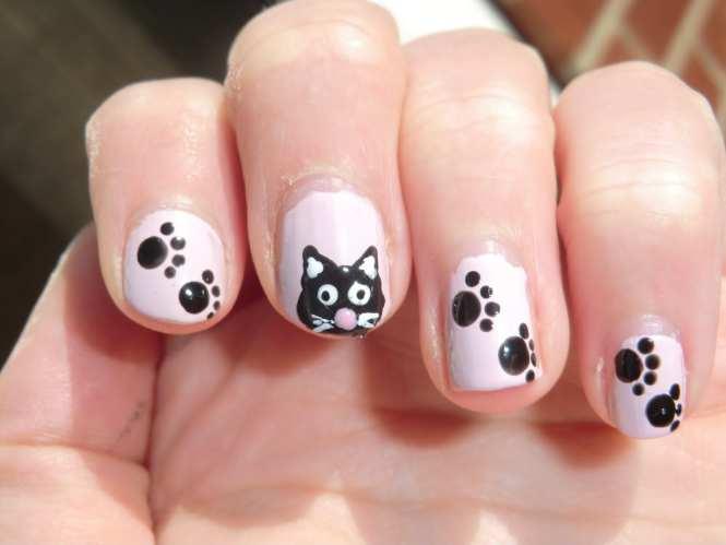 Easy To Do Toe Nail Design