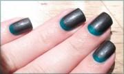 latest moon nail art design