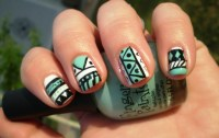 55 Most Incredible Green Nail Art Design Ideas For Trendy ...