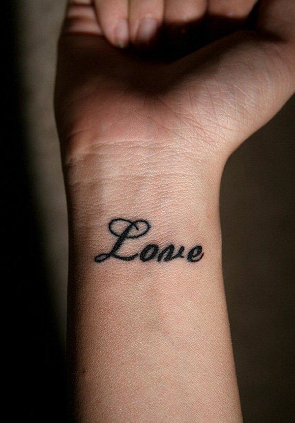 love tattoos wrists