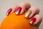 latest chinese nail art design