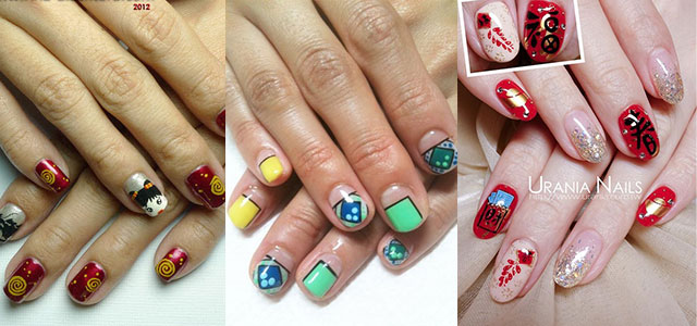 60 Latest Chinese Nail Art Designs For New Year Jerlinda Adnilrej